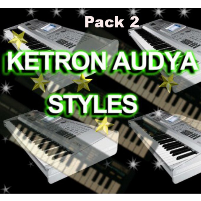 Styles AUDYA KETRON 4-5-8 Pack 2