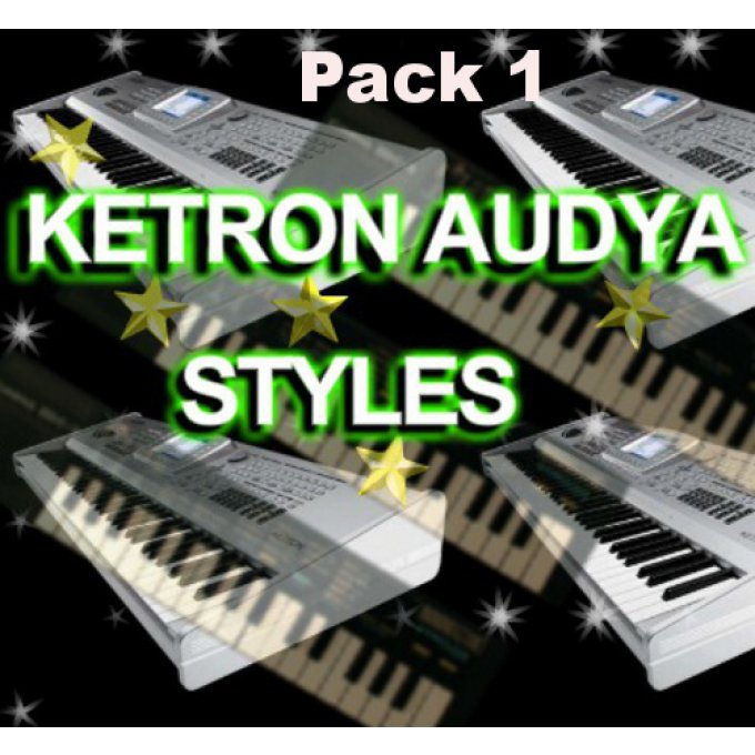 Styles Pack AUDYA  4-5-8 KETRON  Pack 1