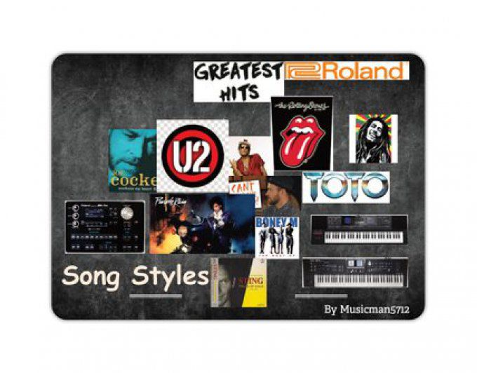 "Styles ROLAND ""The Greatest Hit's"""