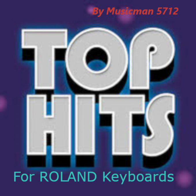"ROLAND Styles Pack ""Top Hit's"""