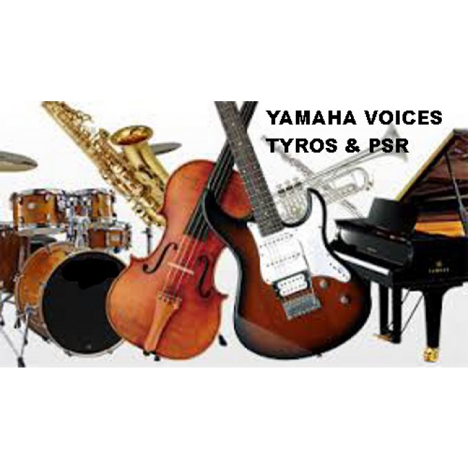 Voices Pack TYROS-PSR-GENOS
